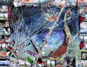 """""""Life"""", Mixed Media, 24"""" x 30"""" by Mary Patricia Stumpf"""