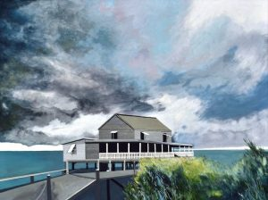 """""""Outer Banks"""", Acrylic on Canvas, 30"""" x 40"""" by Mary Patricia Stumpf"""
